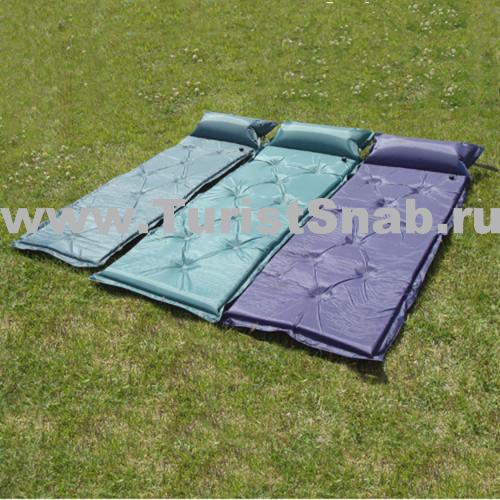 Коврик самонадувающийся большой— коврик сголовной подушкой